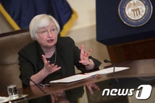 재닛 옐런 미국 연방준비제도(Fed) 이사회 의장. /사진=뉴스1