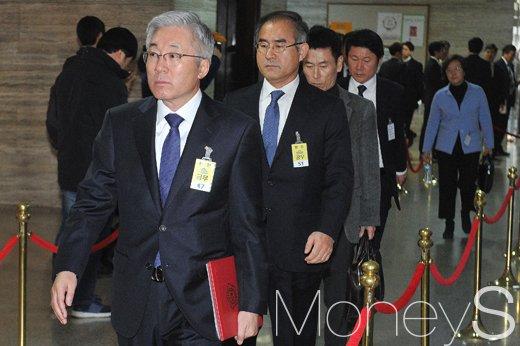 김상률 전 청와대 교육문화수석(앞에서 두 번째) /사진=사진공동취재단