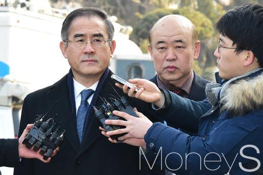[머니S포토] 탄핵심판 7차 변론 김상률, '취재진 질의에 묵묵부답'