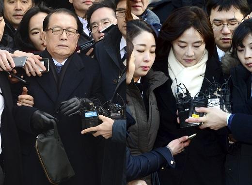 김기춘-조윤선 동시 구속. /사진=이광호 뉴스1DB