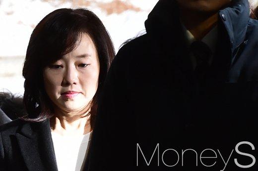 김기춘 조윤선 구속. 사진은 조윤선 전 문화체육관광부 장관. /사진=임한별 기자