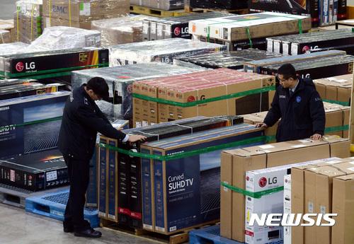 전안법. 구매대행 해외직구. 인천 중구 인천세관 특송물류센터. /자료사진=뉴시스