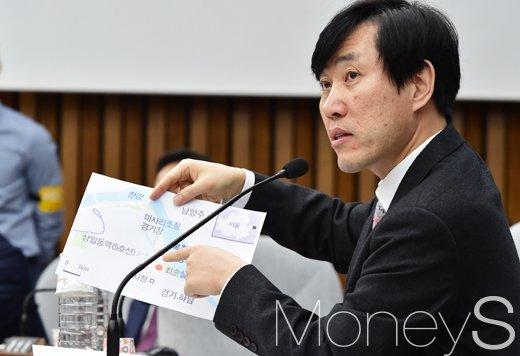 표창원 그림. 곧바이전. 사진은 하태경 바른정당 의원. /사진=사진공동취재단