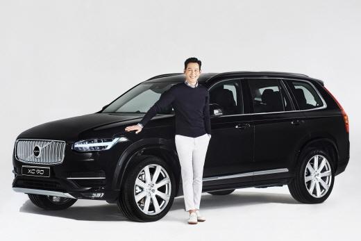 영화배우 이정재가 볼보의 플래그십 SUV의 오너 드라이버가 됐다 /사진=볼보자동차 코리아 제공