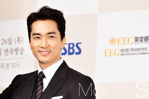 """[머니S포토] 송승헌, """"이영애 보기만 해도 가슴 뛰었다"""""""