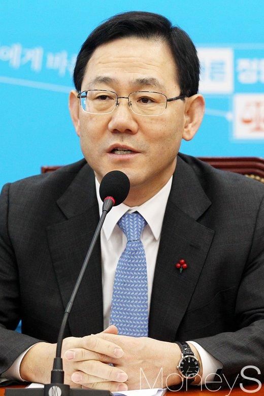 """[머니S포토] 바른정당 주호영 """"가짜뉴스 막기 위해 법적인 정비 할 것"""""""
