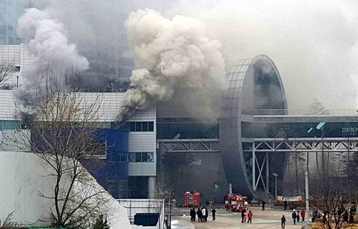 동탄 메타폴리스 화재. /사진=뉴시스 추상철 기자