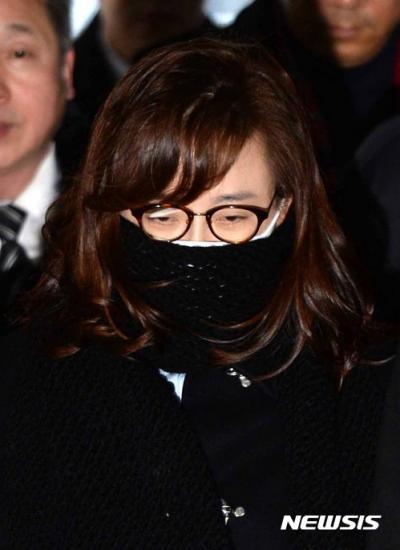 [속보] 박채윤 특검 출석… 김영재 원장 부인