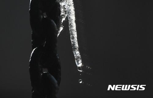 밤부터 전국 비. 지난 15일 서울 시내 한 건물에 붙은 고드름이 녹고 있다. /자료사진=뉴시스
