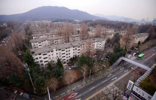 지난 2014년의 개포 시영아파트 전경. /사진=뉴시스 DB