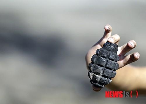 경북 문경의 한 공장에서 수류탄 폭발사고가 발생해 3명이 화상을 입고 병원으로 후송됐다./사진=뉴시스DB