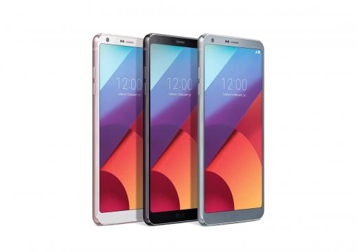 LG전자는 26일 세계최대 모바일박람회 MWC 개막을 하루 앞두고 스마트폰 신제품 G6의 상세 모습을 공개했다. /사진=LG전자 제공