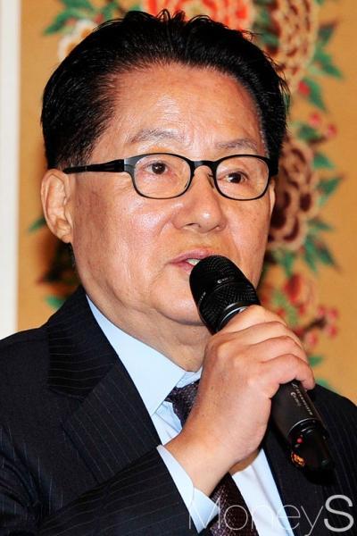 황교안 특검 연장. 사진은 박지원 국민의당 대표. /사진=임한별 기자