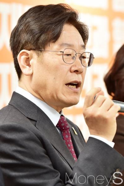 특검연장 거부. 사진은 이재명 성남시장. /사진=임한별 기자