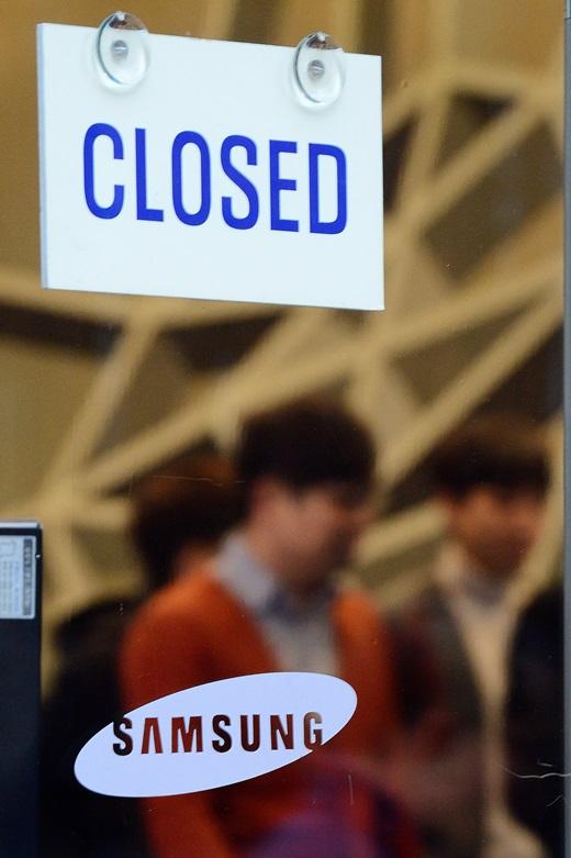 삼성이 지난달 28일 그룹의 컨트롤타워 역할을 해온 미래전략실을 해체한다고 밝혔다. 사진은 이날 서울 삼성 서초사옥 모습. /사진=뉴스1