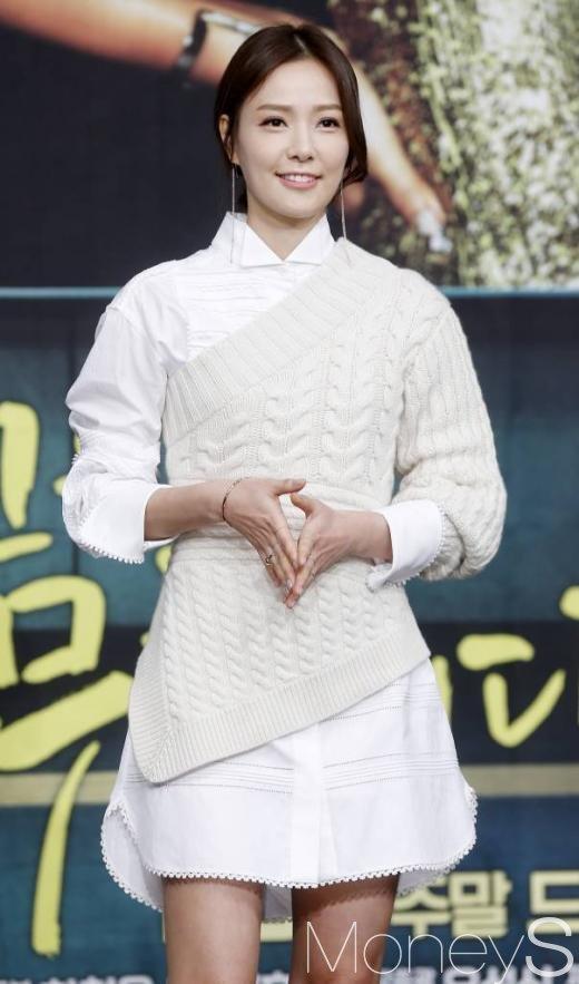 당신은 너무합니다 제작발표회에 참석한 배우 손태영/사진=머니투데이 김휘선 기자