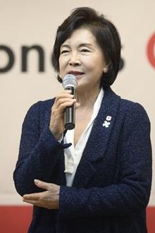 홍라희 전 삼성미술관 관장. /사진=뉴스1