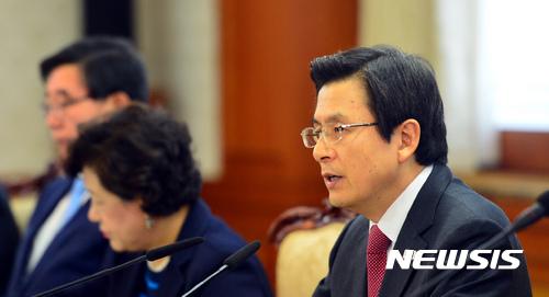 황교안 시진핑. 황교안 대통령 권한대행 국무총리. /자료사진=뉴시스
