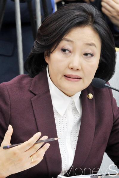 박근혜 탄핵심판. 오늘 탄핵심판 선고. 사진은 박영선 더불어민주당 의원. /사진=사진공동취재단