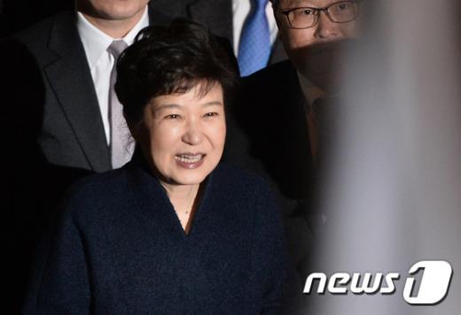 김홍걸. 사진은 박근혜 전 대통령. /사진=뉴스1