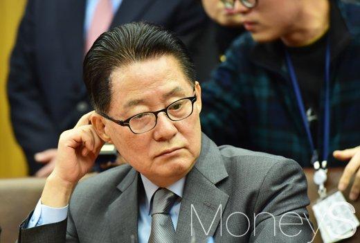 국민의당 경선. 사진은 박지원 국민의당 대표. /사진=임한별 기자