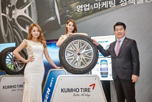 금호타이어, SUV용 프리미엄 타이어 신제품 출시