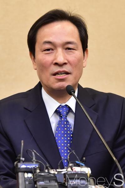 박근혜 검찰 소환. 사진은 우상호 더불어민주당 원내대표. /사진=임한별 기자