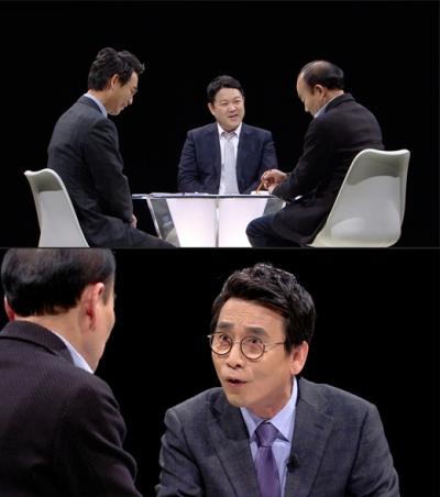 썰전 추가 녹화. /사진= JTBC 제공