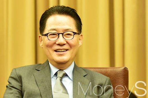 국민의당 전북경선. 사진은 박지원 국민의당 대표. /사진=임한별 기자