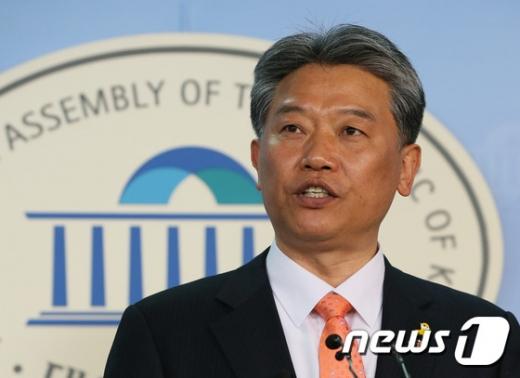 민중연합당. 김선동 전 통합진보당 의원. /사진=뉴스1
