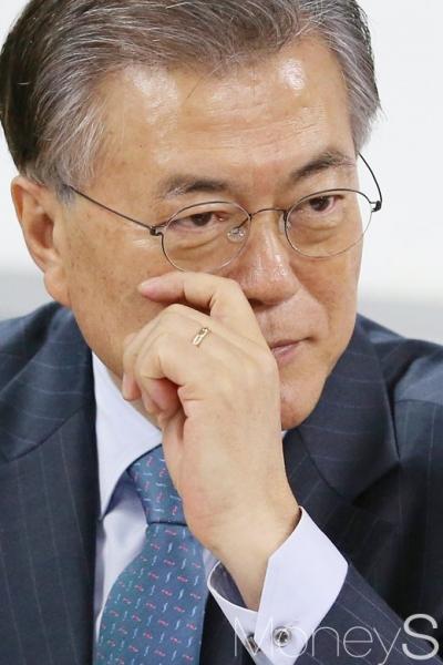 문재인 총재. 사진은 문재인 전 더불어민주당 대표. /사진=임한별 기자