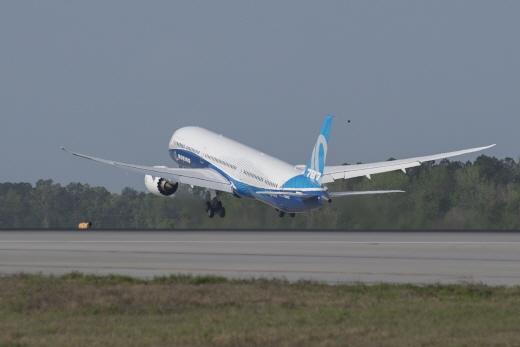 보잉 787-10 시험비행장면 /사진=보잉 제공