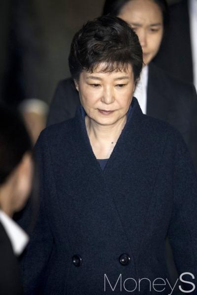 박근혜 구속후 오늘 첫조사. /사진=사진공동취재단