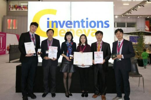한국전력, '제네바 국제발명전시회' 6관왕 달성