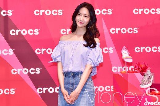 [머니S포토] 소녀시대 윤아, 이자벨라 컬렉션과 함께