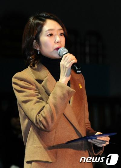 안철수 유치원. 단설유치원. 사진은 고민정 더문캠 대변인. /사진=뉴스1
