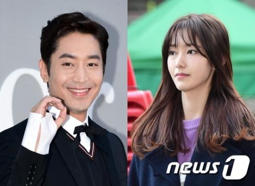 에릭 나혜미 결혼. 사진은 신화 에릭(왼쪽)과 배우 나혜미. /자료사진=뉴스1