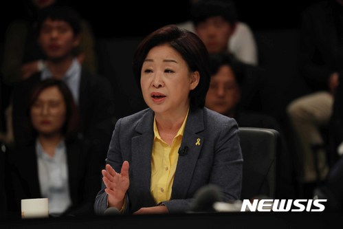 안랩 포괄임금제. 심상정 정의당 대선후보가 25일 JTBC 주관으로 열린 TV 토론회에서 발언하고 있다. /사진=국회사진기자단