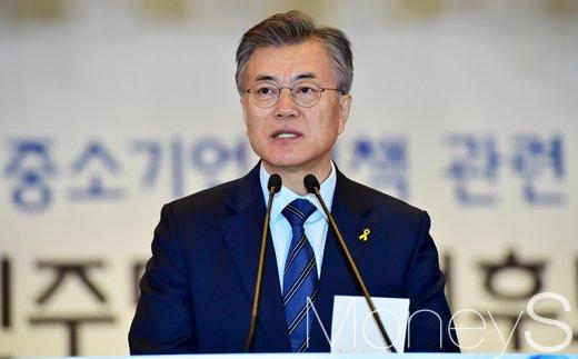 JTBC 대선토론. 문재인 더불어민주당 후보. /자료사진=임한별 기자