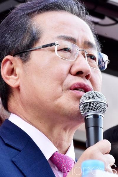 홍준표 자유한국당 대선후보. /사진=임한별 기자