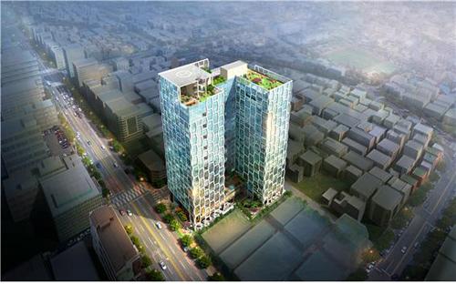 22층 521실 규모… 포항 오피스텔 '엠스타디움' 모델하우스 오픈