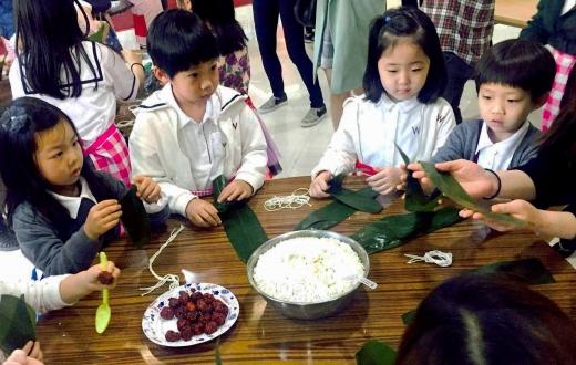 아가방앤컴퍼니, 중국문화원 문화체험행사에 후원기관 '와이어트' 초청