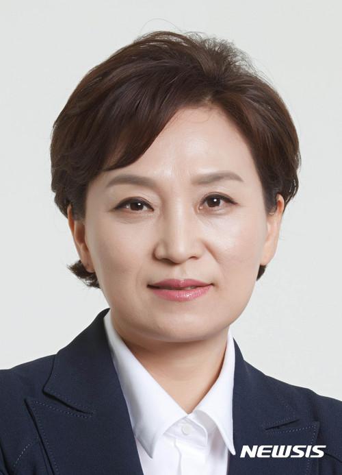 김현미 국회의원이 새 국토교통부 장관 후보자에 지명됐다. /사진=뉴시스