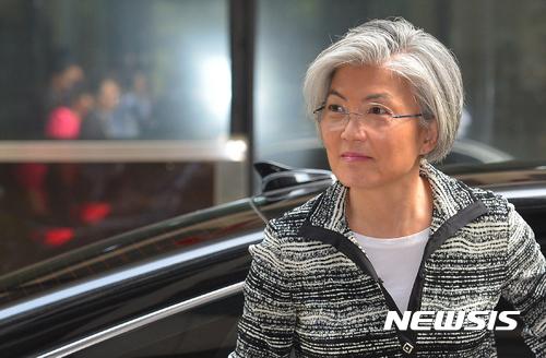 강경화 외교부 장관 후보자. /자료사진=뉴시스