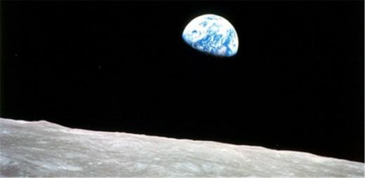 달에서 본 지구. /사진=플리커