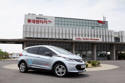 롯데렌터카, 환경부장관 표창 수상… 전기차 보급 활성화 기여