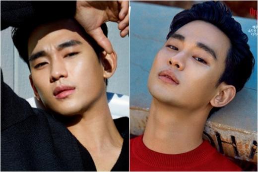 """""""이 눈빛, 리얼""""… 김수현의 헤어나올 수 없는 치명적 매력"""