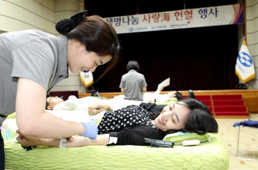 Sh수협은행, 어업인 지원 '생명나눔 사랑海 헌혈봉사'