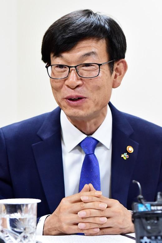 김상조 공정거래위원장. /사진=뉴시스