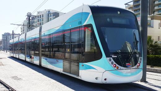 현대로템 이즈미르 트램. /사진=현대로템 제공